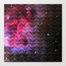 Galaxy Tribal Elevator Canvas Print