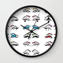 Liner Color Wall Clock