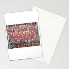 La hinchada de Argentina por Diego Manuel Stationery Cards