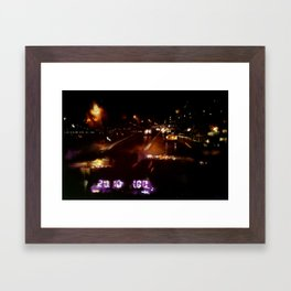 Lost in Some City No. 6 Framed Art Print