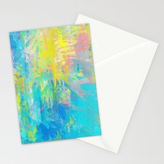 Splattered Stationery Cards