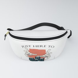 poker outfit for poker player as gift idea Fanny Pack