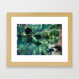 Cenote, Mexico Framed Art Print