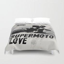 Supermoto Love Duvet Cover