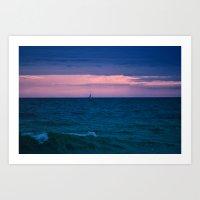 sail Art Prints featuring Sail by LindaMarieAnson
