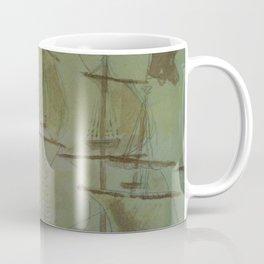 Ship - 13, Aug. 2010 - Tonight's Watercolor Coffee Mug