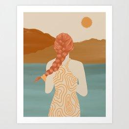 Dreamy View Art Print
