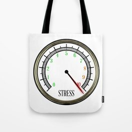 Stress Meter Tote Bag