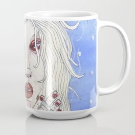 snow princess with cigarette Coffee Mug