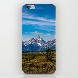 Teton Mountains iPhone Skin
