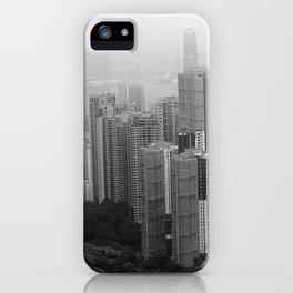 Hong Kong Island iPhone Case
