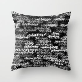 Spidery Lines Inverse Throw Pillow