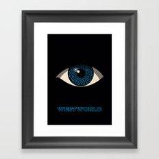 Westworld Alternative Poster (Hosts) Framed Art Print