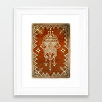 hamsa Framed Art Prints featuring Hamsa by Our Folk Life