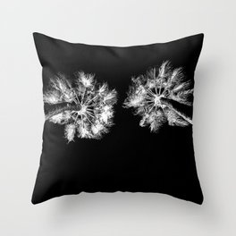 PALMS DARK Throw Pillow