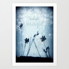 twilight magic Art Print