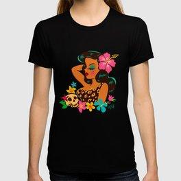 Tropical Tiki Girl T-shirt