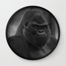 Oumbi The Silverback Gorilla Wall Clock