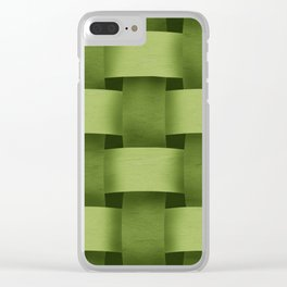 Woven Clear iPhone Case