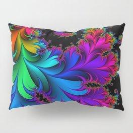 Rainbow Spiral Pillow Sham