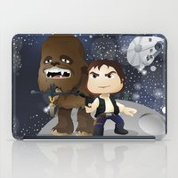 han solo iPad Cases featuring Han Solo & Chewbacca by 7pk2 online
