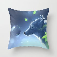 Plant Spirit Throw Pillow