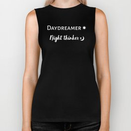 The Daydreamer and Night Thinker Biker Tank