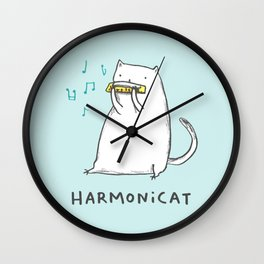 Harmonicat Wall Clock
