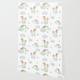 Unicorn pattern Wallpaper