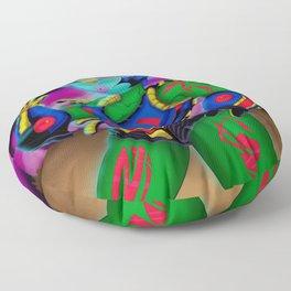 Alien Wear Floor Pillow