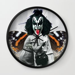 The last Kiss Collage Wall Clock