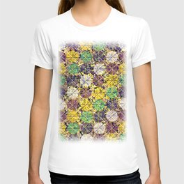 Pattern circles joined T-shirt