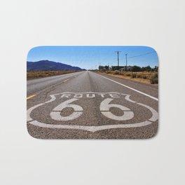 Historic Route 66 Bath Mat