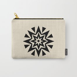 Star cushion round Carry-All Pouch