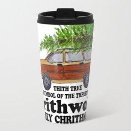 Grithwold Family Chrithmath Travel Mug