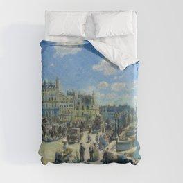 Pierre-Auguste Renoir - Pont Neuf, Paris Duvet Cover