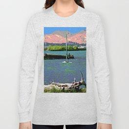Sherman Island Wind Surfing Long Sleeve T-shirt