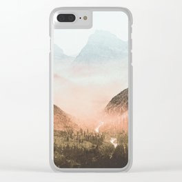 Mountain Adventure 21 - Nature Photography Clear iPhone Case