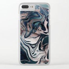 Lemuria Clear iPhone Case