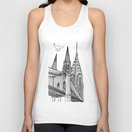 NYC Silhouettes Unisex Tank Top