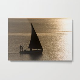 Morning on the Indian Ocean Metal Print