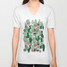 Where's Cactus? Unisex V-Neck