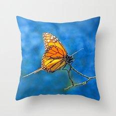 BUTTERFLY LIGHT Throw Pillow