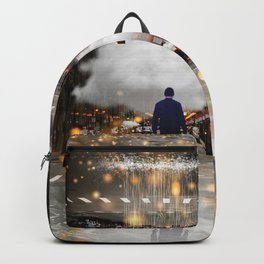 Raining in the Streets Backpack