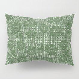 Floral Lace - Sage Pillow Sham