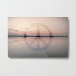 Calm Waters And Peace Metal Print