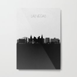 City Skylines: Las Vegas Metal Print
