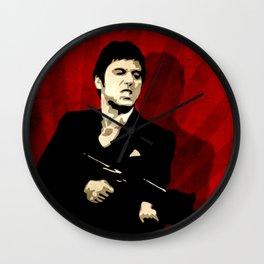 Tony Montana Scarface Pop Art Wall Clock