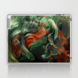 """Betta splendens Deep water (Siam fighter)"" Laptop & iPad Skin"