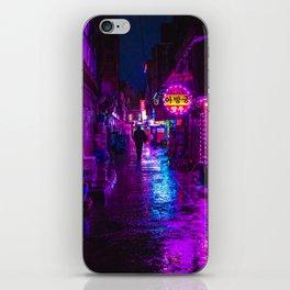 Shadowy Alley iPhone Skin